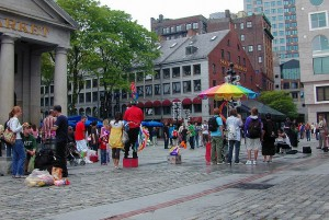 Mayor Kevin White Turned Quincy Market into a Public Square